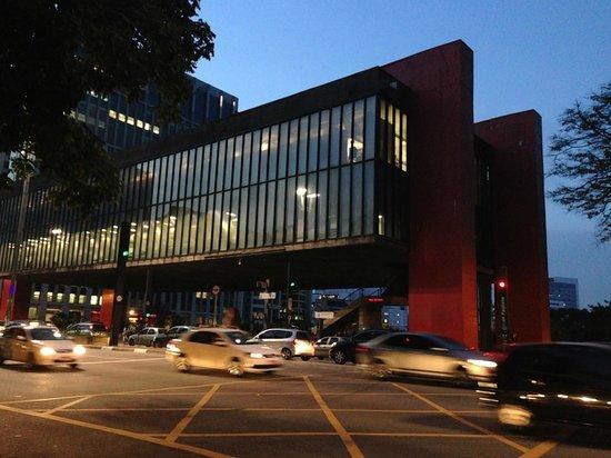 Museu de Arte de Sao Paulo Assis Chateaubriand - MASP: the MASP