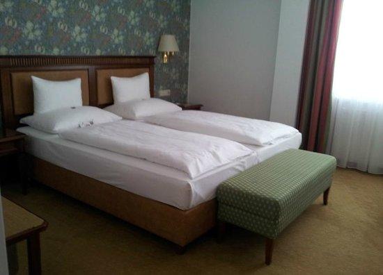 Hotel Am Parkring: Schlafzimmer