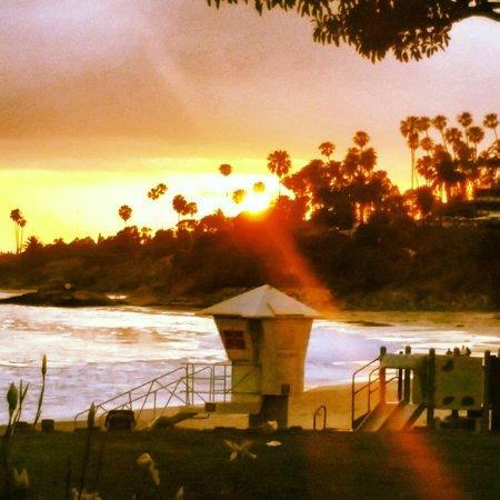 Hotel Laguna : Sunset