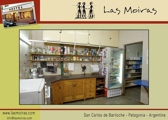 Hostel Las Moiras: Cocina/Kitchen