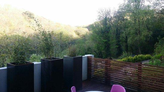 The Copper House - Portreath: The breathtaking view from the private veranda!!!!!!!!!!