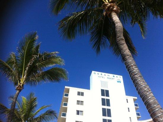 Ocean Sky Hotel & Resort : Вид отеля