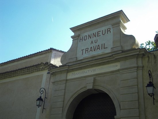 Porte d'entrée de Villeneuvette