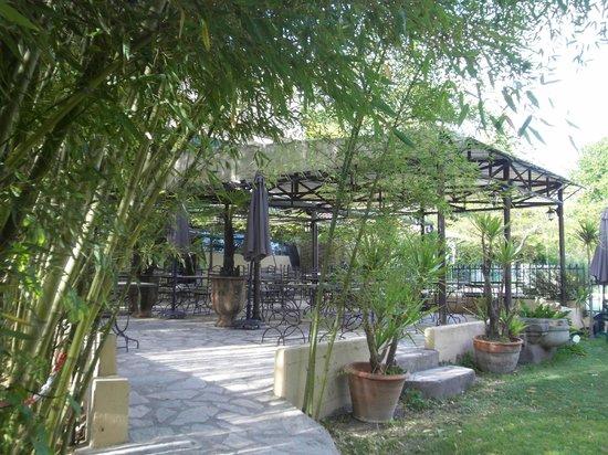 Hotel de la Source : Terrasse