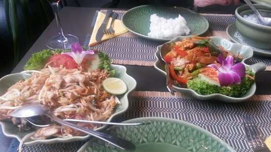 Blue Orchid: Path Thai and Red Curry