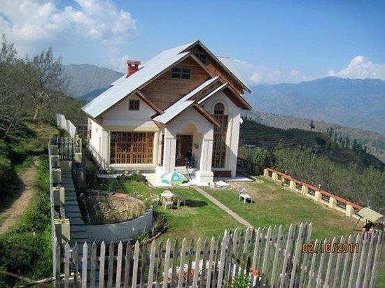 Dwarika Residency Shelapani: View from the lawn