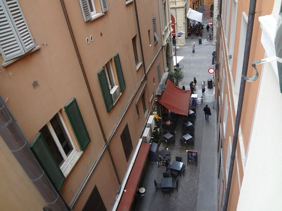 Metropolitan Hotel: Вид на Via Dell'Orso