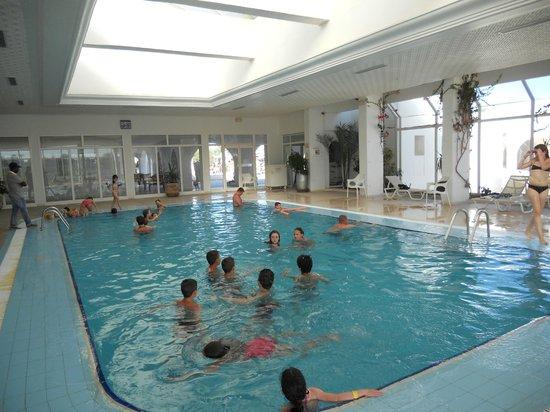 Seabel Rym Beach : La piscine intérieure chauffée