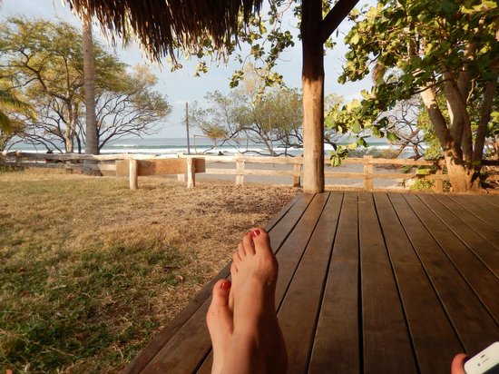 Hotel Playa Negra: View from hammock