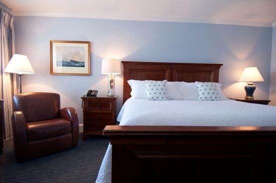 The Whaler's Inn: Stonington House King Guestroom.