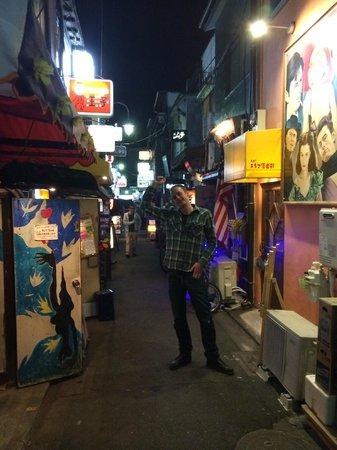 Shinjuku Golden Gai : Narrow streets filled with bars
