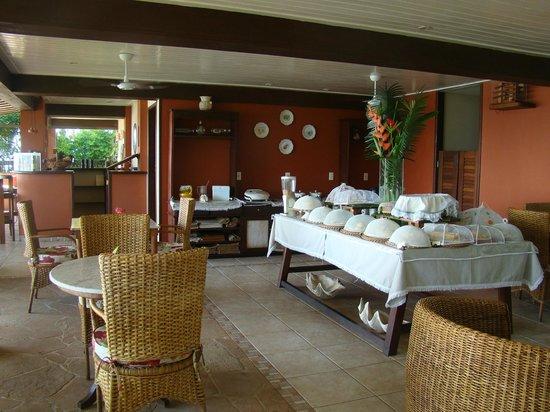 Hotel Porto do Zimbo: sala de cafe