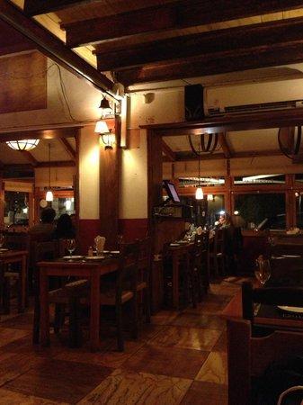 La Fonda del Puertito: Salão do restaurante