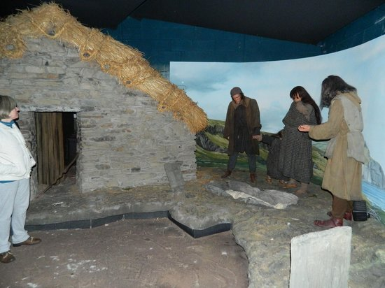 House of Manannan: Part of the village of early Mann