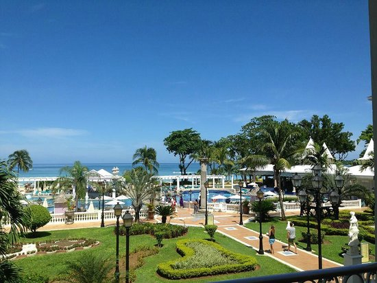 Hotel Riu Palace Tropical Bay : view from entrance