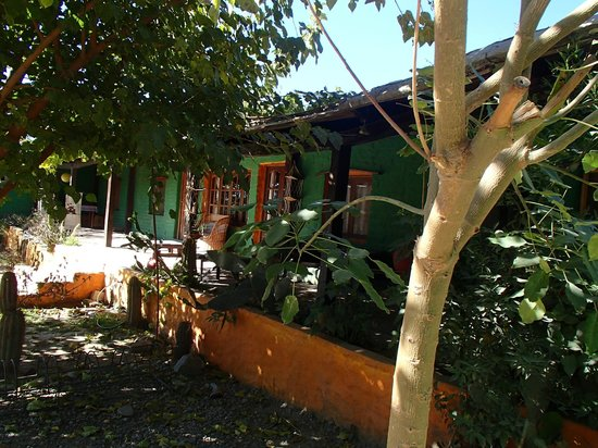 Cafayate Backpackers Hostel: Frente