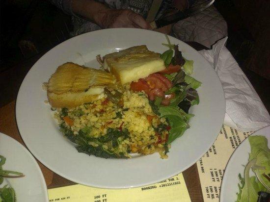 Kiado Pub: Козий сыр на гриле