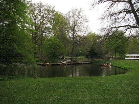 Bürgerpark: Лодки в Бюргерпарке