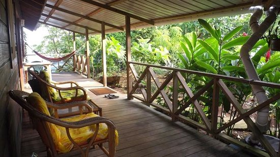 Punta Rica Beach & Jungle Villa: Deck