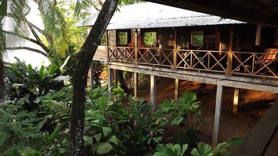 Punta Rica Beach & Jungle Villa: View one side