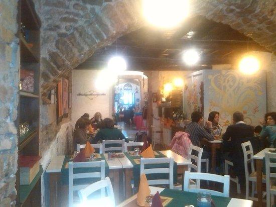 Taverna dello Spagna: interno