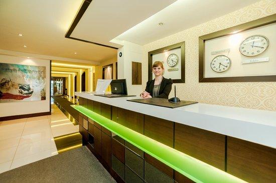 Hotel Am Hopfensee: Rezeption