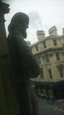 Hard Days Night Hotel: from our window