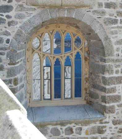 St. Michael's Mount: One of the castle windows