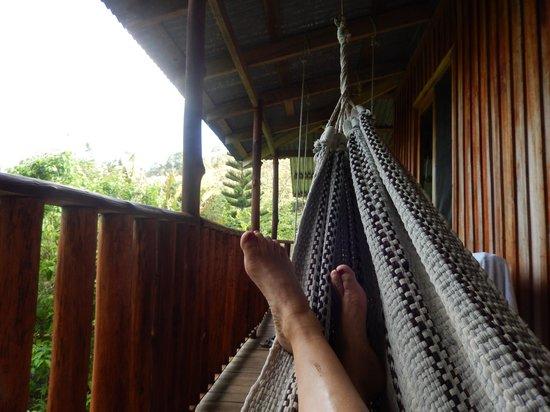 Cataratas Bijagua Lodge: balcony