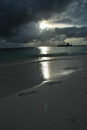 Fihalhohi Island Resort: восход