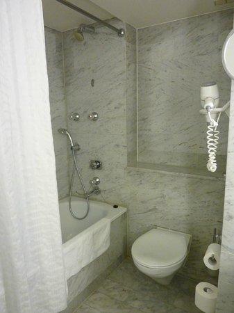 Radisson Blu Hotel, Amsterdam : Canal view superior room 155 bathroom