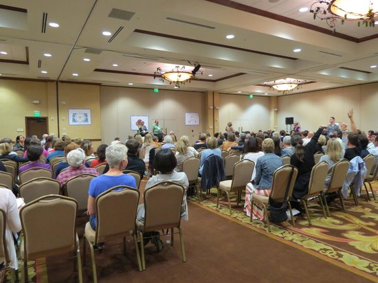 The Meritage Resort and Spa: Conference lecture (room can be reset all diff ways)