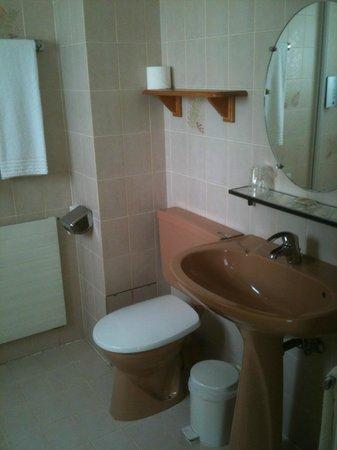 Hotel au Riesling: Salle de bain