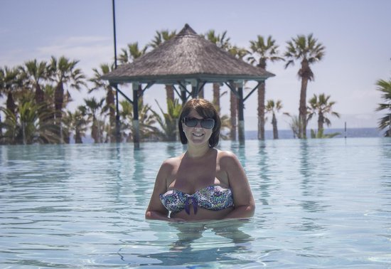 Gran Meliá Palacio de Isora Resort & Spa: me in the pool