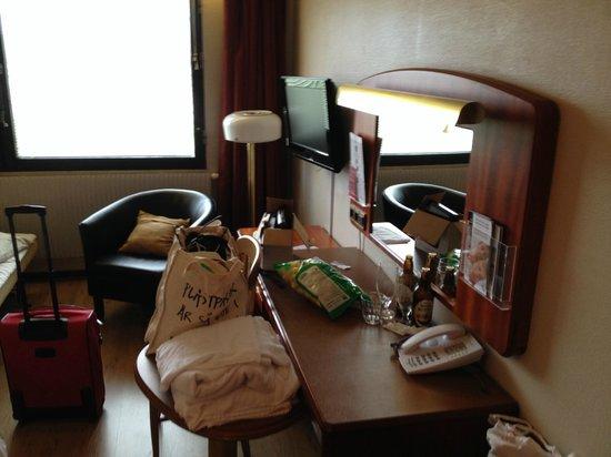 BEST WESTERN Hotell SoderH: Vårt rum. Var väldigt rent!