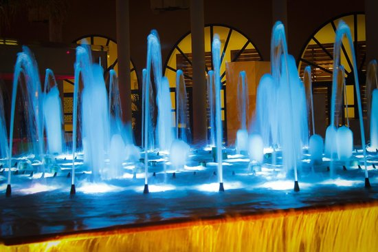 Gran Meliá Palacio de Isora Resort & Spa: Water fountains show
