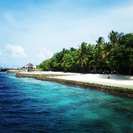 Lily Beach Resort & Spa: Вид с яхты