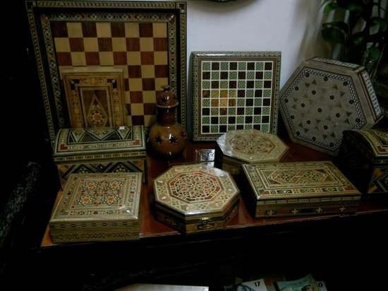 Casa Andalusi: nice boxes