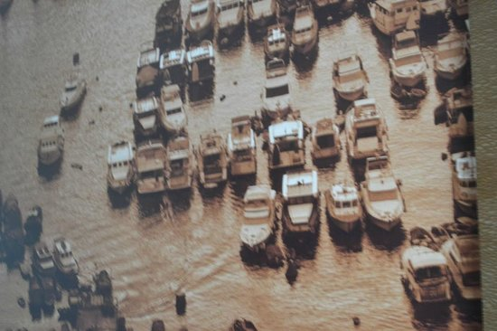 Harbour Grand Hong Kong: Photograph in hotel showing part harbour.
