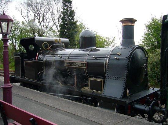 Foxfield Railway: on loan to foxfield