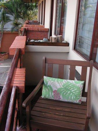 Apartotel La Sabana: Le balcon