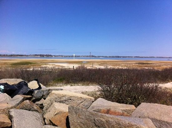 Provincetown Causeway : Town from across the harbor