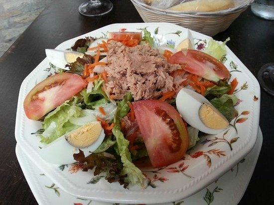 El Jardin de las Tapas: excellente salade
