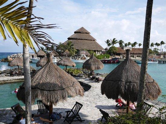 Xcaret Eco Theme Park: Пляж Шкарета