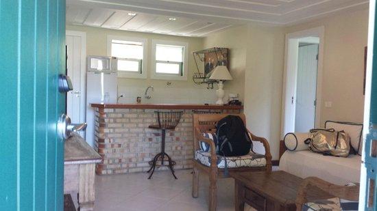 Pousada Byblos : Copa da suíte do Byblos Residence