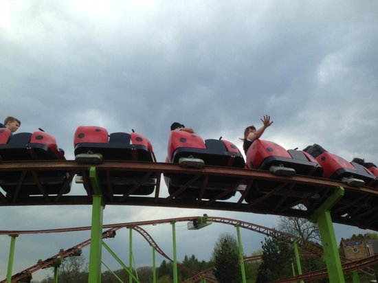 Lightwater Valley Theme Park: one of the rides