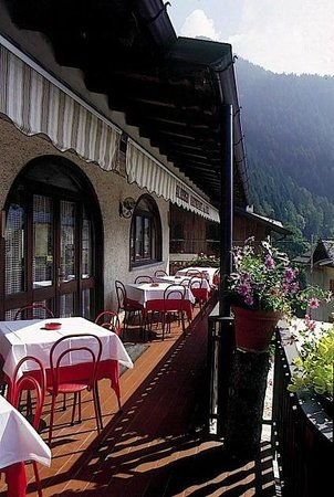 The Sun Hotel: Il panoramico terrazzo del ristorante ...
