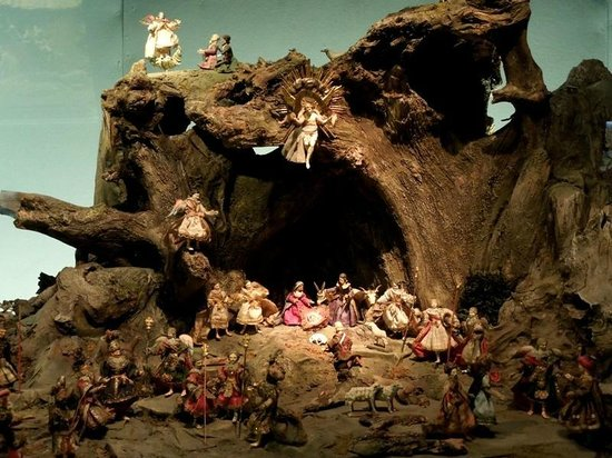 Oberammergau Museum : Рождественские ясли