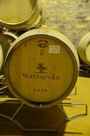 Wine Escapes - Exclusive Cellar & Vineyard Tours : Waterford Wine Cellar