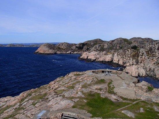 Lindesnes Fyr: Utsikt mot vest